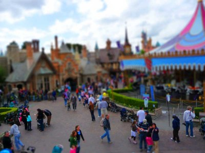 Disneyland Tilt Shift