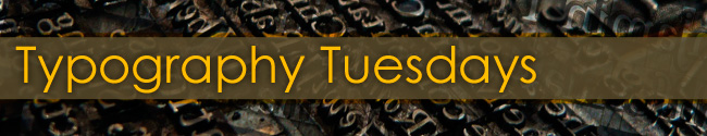 Typography Tuesdays Banner
