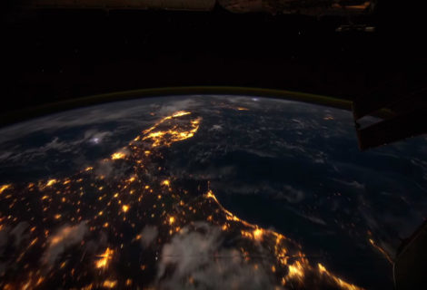 More Time Lapse From the ISS