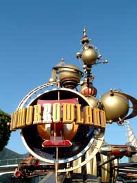 Tomorrowland Retro-Futurism: from wikipedia