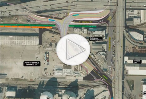 Port of Seattle Argo Access Road Visualization