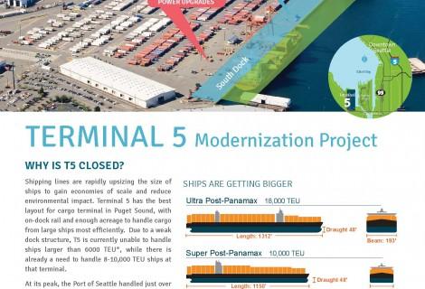 Terminal 5 Modernization Flyer