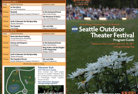 Seattle Outdoor Theatre Festival