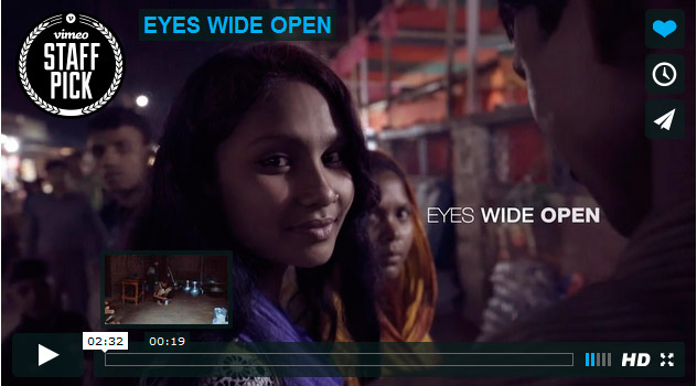 "Great Short Film ""Eyes Wide Open"""