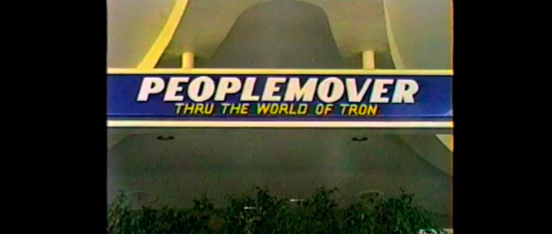 I found it! The Tron People Mover Ride!