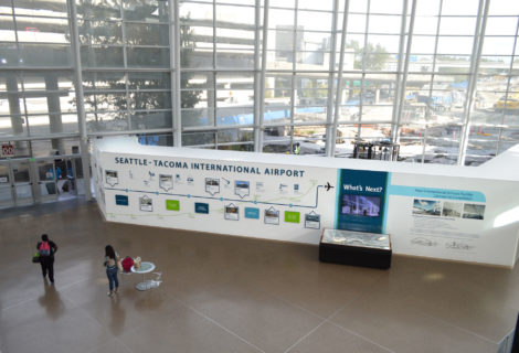 Sea-Tac Airport History and Future Environmental Display